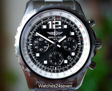 Breitling Chronospace Auto Black Dial Stainless Steel 46mm, Ref. A2336035/BA68