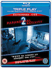 PARANORMAL ACTIVITY 2 (EXTENDED CUT BLU RAY +DVD)