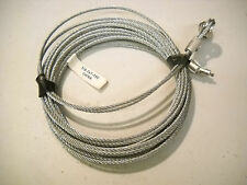 """TWO M-3 150"""" Replacement Cable Wire for Enclosed Cargo Trailer Ramp Spring 12.5'"""