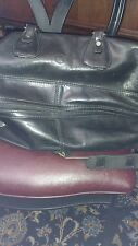 Valentina in pell Italy vintage leather Duffle carry-on Travel Bag Breifcase