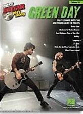 Easy Guitar Play-Along GREEN DAY Learn to 21 GUNS Beginner TAB MUSIC BOOK & CD