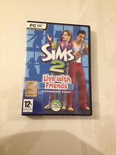 the sims 2 expansion pack n 8 ' live with friend ' videogioco PC apartment life
