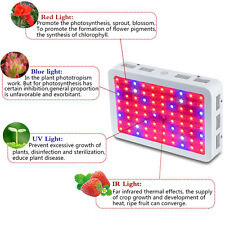 Bestva 800W LED Grow Light Best Full Spectrum for Flower Plants Veg and Bloom