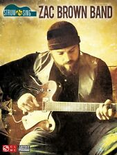 Zac Brown Band Strum & Sing Sheet Music Easy Guitar Book NEW 002501620