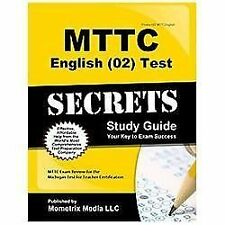 MTTC English (02) Test Secrets Study Guide : MTTC Exam Review for the...