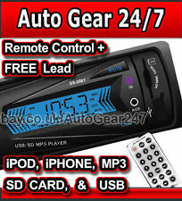 Car non cd stereo head unit iPod, iPhone, lecteur mp3, usb, sd card,3.5 mm aux, radio