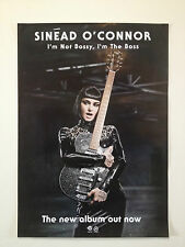 SINÉAD O'CONNOR I'm Not Bossy, I'm The Boss 2014 Album Promo Poster A2 ***NEW***