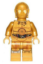 Lego Star Wars C-3PO sw700 (From 75136) Decorated Legs Minifigure Figurine New