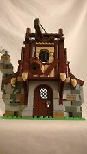 Custom Lego Medieval Brewery with minifigure~Castle~Knights Kingdom
