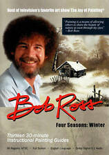 BOB ROSS, 3-DVD SET Teaches 13-PAINTINGS, WINTER, From the 4- SEASON COLLECTION