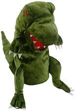 Fiesta crafts Dinosaure marionnette à main vert