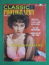 Vintage CLASSIC PHOTOGRAPHY Magazine Summer 1957 No. 4 MARLA ENGLISH Covergirl