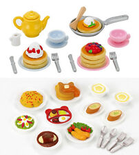 Sylvanian Families - 2 Play Food Sets Together - Lunch Set & Fluffy Pancake Sets