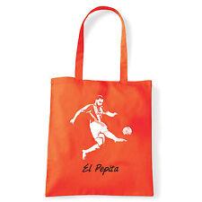 Art T-shirt, Borsa shoulder El Pepita, Arancio, Shopper, Mare