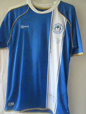 Wigan Athletic 2010-2011 Squad Signed Home Football Shirt with COA /10083