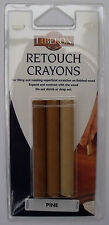 Liberon Retouch Crayons 3 Pack Fill scratches, Holes in Furniture, Floors & Wood