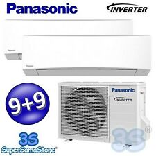 3S neu DUO MULTI Split Inverter PANASONIC Klimaanlage 9000 + 9000 BTU CS-TZ9SKEW