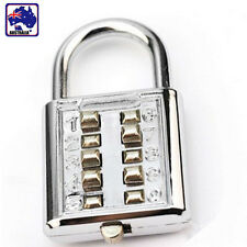 Aluminium Alloy Code Digit Padlock Lock Combination Luggage Suitcase HLOCK 1052