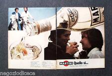 P700 - Advertising Pubblicità -1973- MARTINI BIANCO , QUELLO SI...
