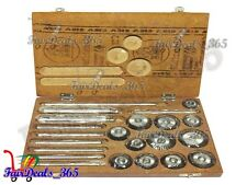 Valve Seat & Face Cutter Set - 10 Pcs Set For Vintage Cars & Bikes Heavy Duty