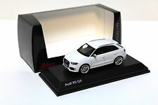 1:43 Schuco AUDI RS q3 WHITE NEW in Premium-MODELCARS