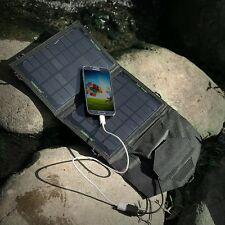 Solar Panel Mobile Electric Source Power Bank Charger For Android Phones Tablets