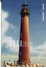 POST CARD FROM THE GULF COAST LIGHTHOUSES SERIES THIS IS SAND ISLAND IN ALABAMA