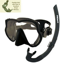 Promate Raven Freediving Spearfishing Scuba Dive Mask Snorkel Gear Set