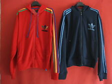Lot 2 veste Adidas à capuche Originals Capuche + Trefoil Homme Survetement - L