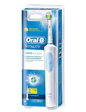 Braun Oral-B Vitality White & Clean Rechargeable Electric Toothbrush with Timer