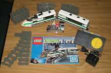 LEGO 4511 High Speed Train + Extra Track  - Large 9Volt Electric Train Set
