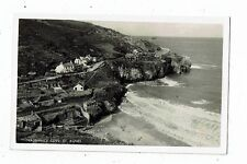 CORNISH POST CARD REAL PHOTO TREVAUNANCE COVE, ST. AGNES