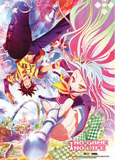 *NEW* No Game No Life: Key Visual Fabric Poster by GE Animation