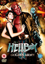 HELLBOY 2 - THE GOLDEN ARMY - DVD - REGION 2 UK