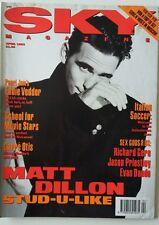 SKY magazine April 1993 Matt Dillon Evan Dando