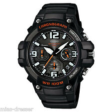 Casio Mens MCW-100H-1AV Heavy Duty Chronograph Analog Quartz Watch 100M