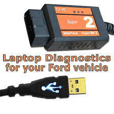 Mondeo OBD Diagnostic Scanner Tool USB Code Reader Interface Cable for Ford