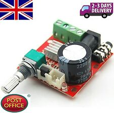 DC 12v Mini amplificatore Board 10w + 10w Amplificatore classe D mini bordo amplificatore audio
