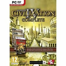 Sid Meier's Civilization IV: Complete (PC DVD), Good Windows XP, PC Video Games