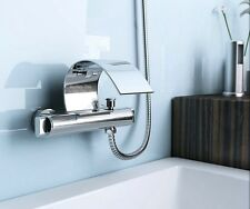 Wall Mounted Bathroom Bath Basin Sink Faucet Mixer Tap With Held Shower L-171