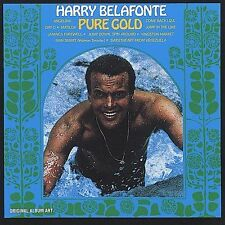 Pure Gold Harry Belafonte MUSIC CD
