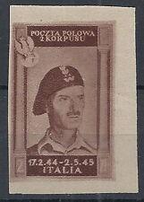 1946 CORPO POLACCO 2 Z NON DENTELLATO MNH ** - RR12616