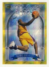 Kobe Bryant 1996-97 Topps Finest Heirs Gold Refractor Rookie Card RC #269