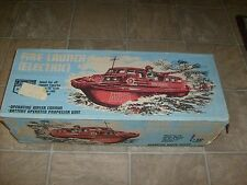 RARE UNUSED CHERILEA FIREFIGHTER ELECTRIC BOAT MIB GI JOE ACTION GEYPER MAN BLOW