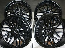 "18"" MATT BLACK 815KG ALLOY WHEELS FITS MERCEDES VITO VIANO VOLKSWAGEN T4"