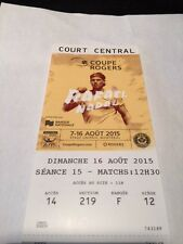 Rogers Cup Tennis - Montreal Tickets Sunday August 16th - Final match