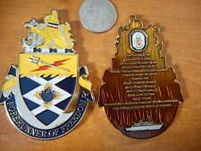 USS Guardian MCM 5 Mine Countermeasure Minesweeper Ship USN Challenge Coin