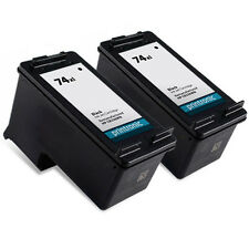 2 Pack HP 74XL Ink Cartridge Officejet J6415 J6424 J6450 J6480 J6488 Printe