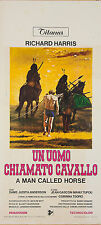 LOCANDINA, UN UOMO CHIAMATO CAVALLO A Man Called Horse HARRIS, WESTERN ,POSTER B