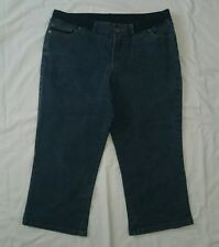 Ladies size 12 3/4 cropped maternity jeans - Target